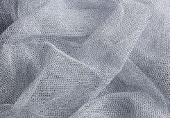 Reflective Gauze Silver
