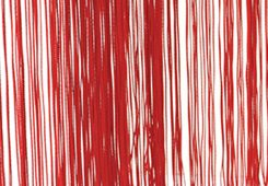 String Drape Red