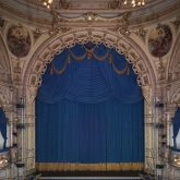 J&C Joel manufactured a complete set of Front of House Curtains for the theatre as part of a restoration project that began in 1990.