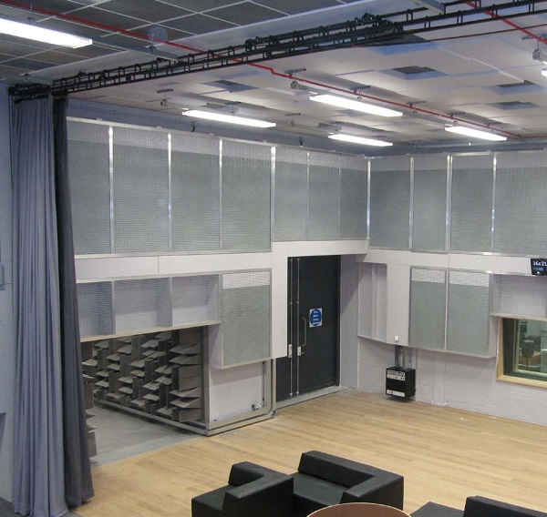 J&C Joel provided a range of acoustic systems for the MediaCityUK complex located at the Salford Quays.