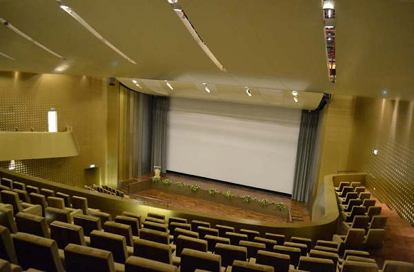 In one of the company's largest installations to date J&C Joel carried out a complete fit out of Zayed University's Abu Dhabi campus auditorium.