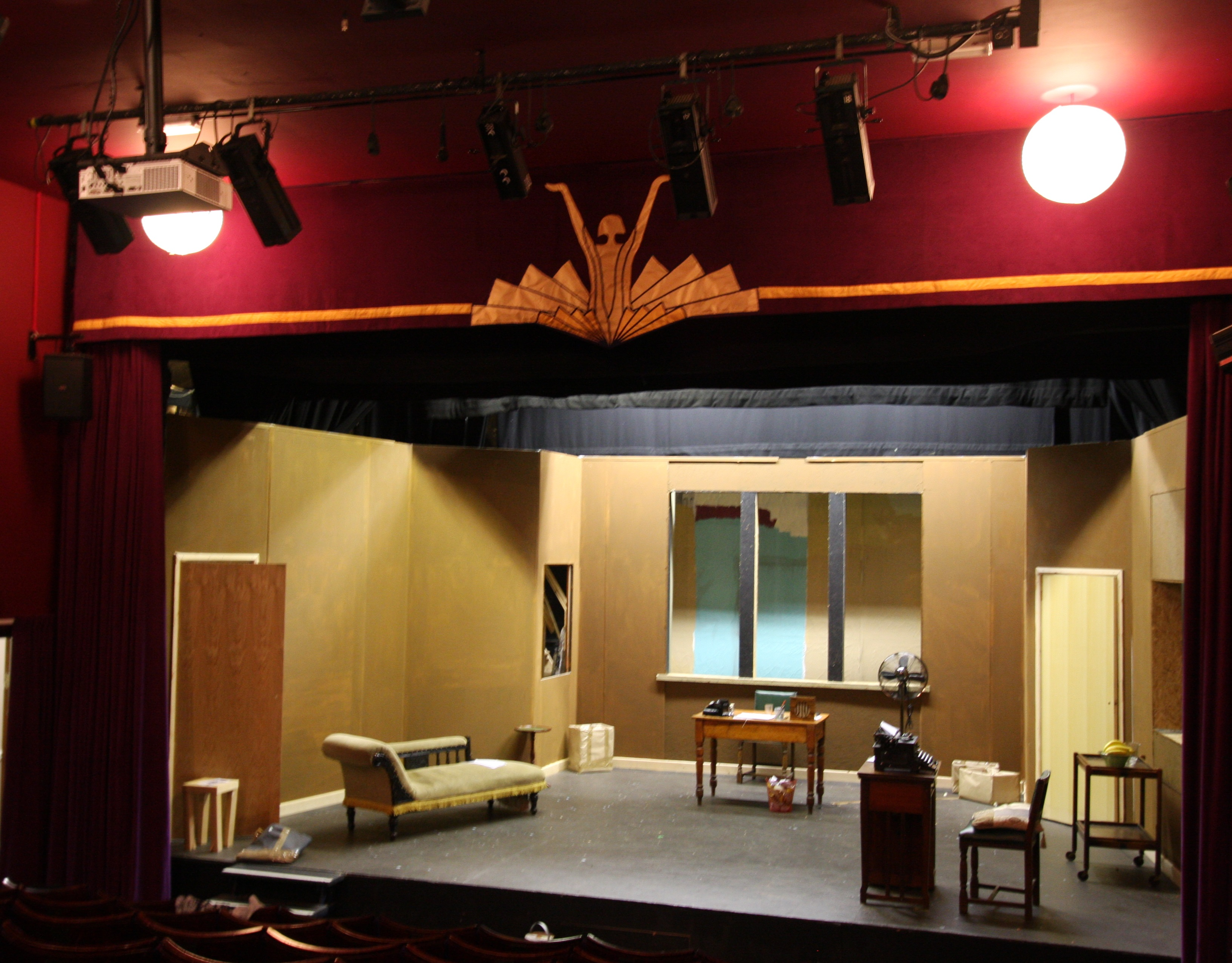 Manufacturer of flame retardant fabrics, drapery and stage engineering solutions, J&C Joel, has helped set the stage at Hebden Bridge Little Theatre.