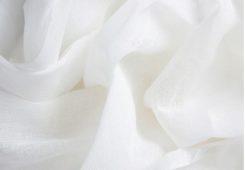 muslin white cover