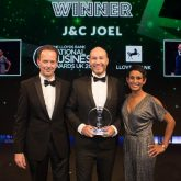 James Wheelwiright with Naga Munchetty