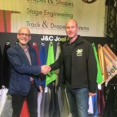 J&C Joel CEO James Wheeltwright with Jon Morgan of the Theatres Trust